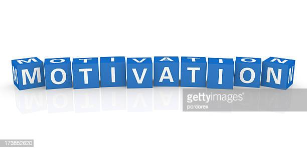 buzzword cubes: motivation - single word stock pictures, royalty-free photos & images
