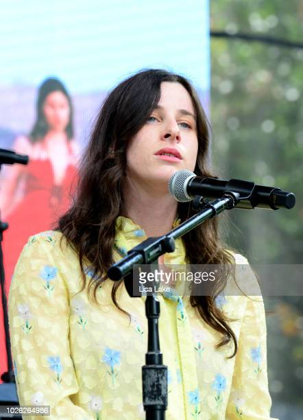Buzzy Lee performs onstage during the 2018 Made In America Festival Day 2 at Benjamin Franklin Parkway on September 2 2018 in Philadelphia...