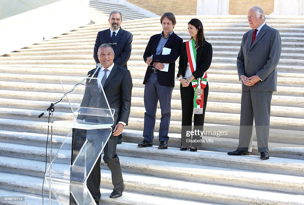 Bvlgari Tribute To Spanish Steps -  Press Conference