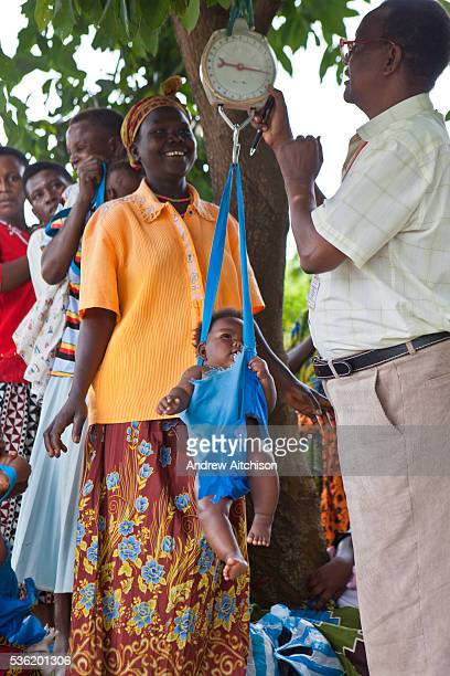 Bwindi Community Hospital medical staff run an out reach clinic in Kitahurira the only Batwa tribe settlement in Mpungu district As well as nutrition...