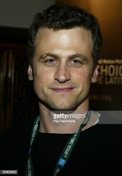 BxEd Director/screenwriter/actor David Moscow poses at the Kodak Producers' Reception during the 2004 Tribeca Film Festival at Tribeca Performing...