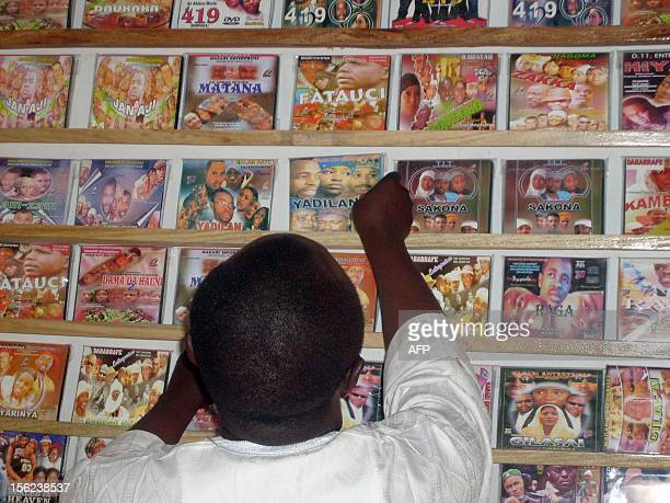 STORY by Aminu Abubakar A customer searches for local Hausa films known as Kannywood which are popular among the residents of northern Nigeria's city...