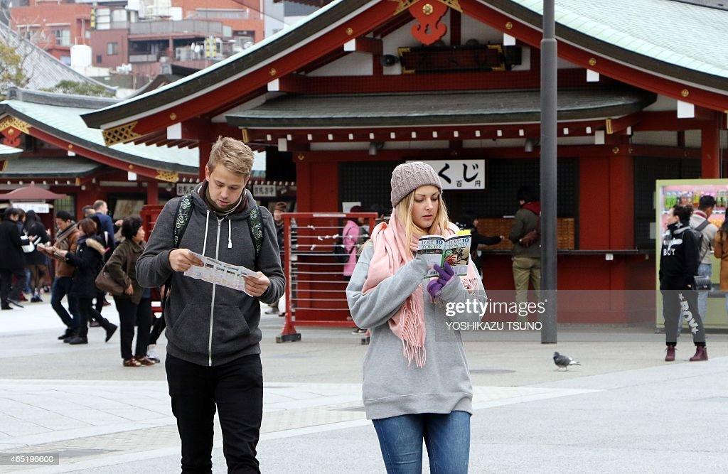 JAPAN-TOURISM-LEISURE : News Photo