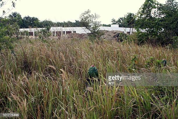 STORY 'STORY VIETNAMFRANCEEDUCATIONEXECUTION' by Aude GENET This photo taken on May 23 2010 shows graveyard for people given the death penalty with a...