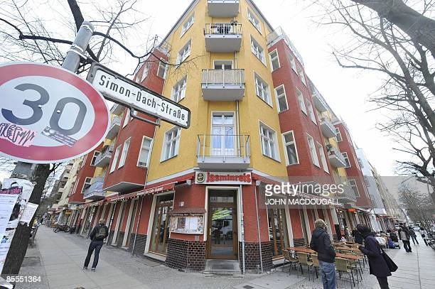 STORY by AUDREY KAUFFMANN View of a cafe on the Simon Dach strasse in the Friedrichshain neighbourhood of Berlin March 20 2009 The rapid...