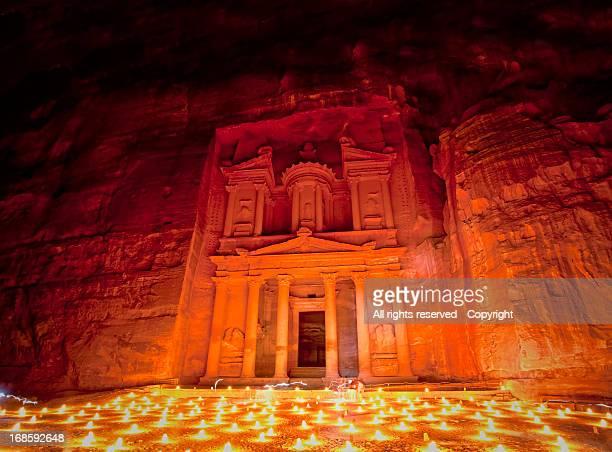 By candlelight (Petra, Jordan)