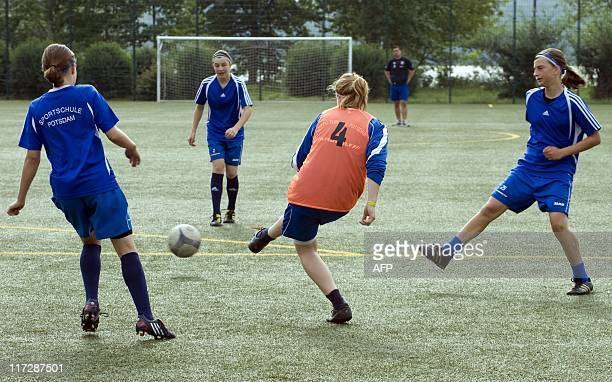 STORY by CELINE Girls from the 7th grade specialised in women's football of the Friedrich Ludwig Jahn Sportschule Potsdam school for competitive...