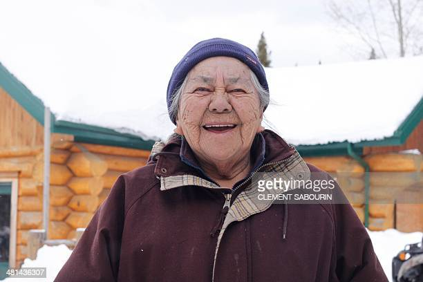 STORY by Clement Sabourin Canadaforestryenvironmenthuntingnative Sophie an Elder of the Indian Cree community of Waswanipi Canada 600kms north of...