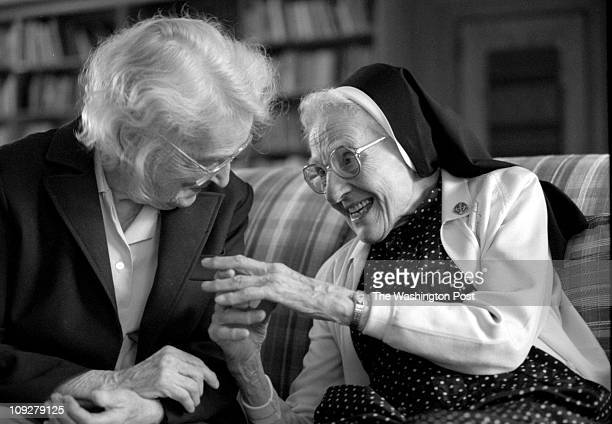 03/02/98 by Dayna Smith TWP Nuns in Baltimore who are participating in a nationwide study on Alzheimer's are tested every year on memory and agility...