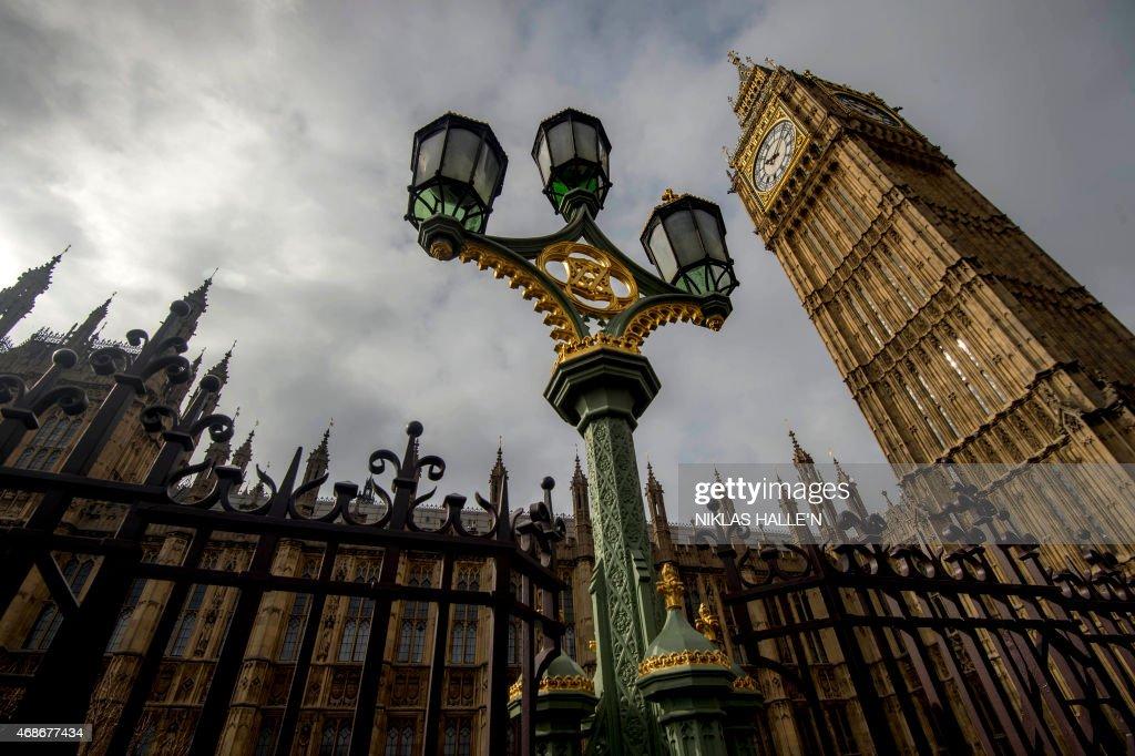 BRITAIN-POLITICS-VOTE : News Photo