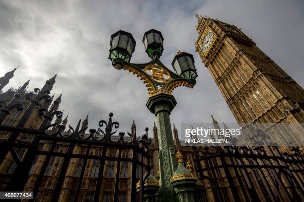 STORY by DENIS A general view of of the Palace of Westminster with the Great Westminster Clock more commonly known as 'Big Ben' seen on April 5 2015...