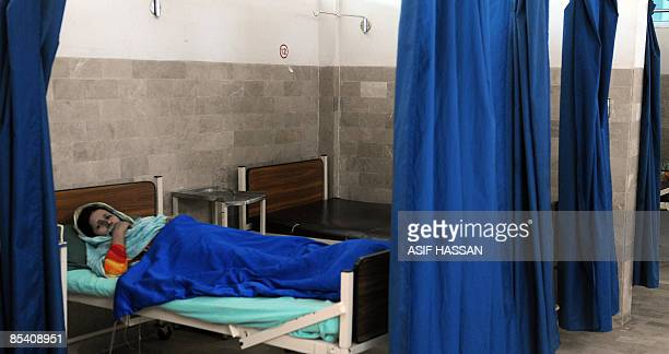 By Hasan Mansoor In this picture taken on March 3, 2009 shows Mehmooda Manzoor, a fistula patient resting at Koohi Goth hospital in the outskirts of...