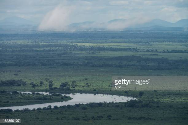 STORY by Hector Velasco Picture of a meander of the Paraguay river in the Pantanal in Corumba a municipality in the Brazilian state of Mato Grosso do...