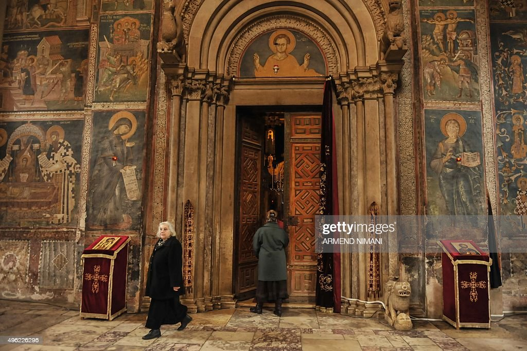 KOSOVO-SERBIA-HERITAGE-UNESCO : News Photo