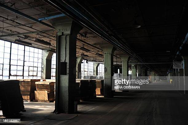 STORY by Mira OBERMAN USautohistorycompanyFord Light pours into what was once the final assembly area for the Model T at Ford's Highland Park plant...