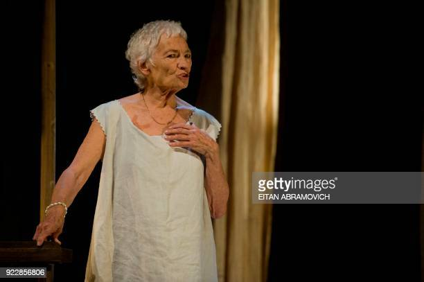 STORY by Nina Negron Basque actress Tachia Quintanar girlfriend of Colombian Nobel laureate Gabriel Garcia Marquez during their youth performs the...