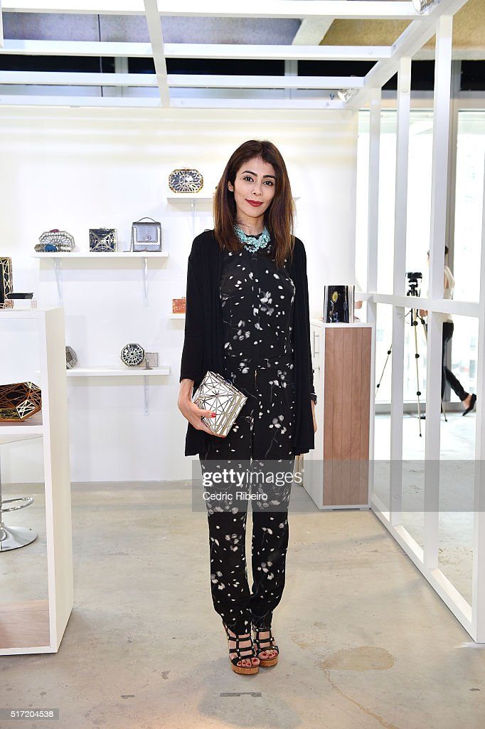 Dubai collections March 2016 by Emaar - Pop-up Boutique Designers : News Photo