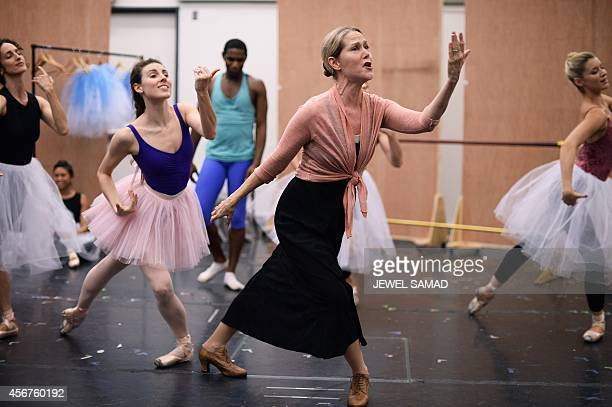 STORY by Shaun TANDON EntertainmentmusicalballetsculptureUSFranceBelgium Performers dance during the media preview of musical production Little...