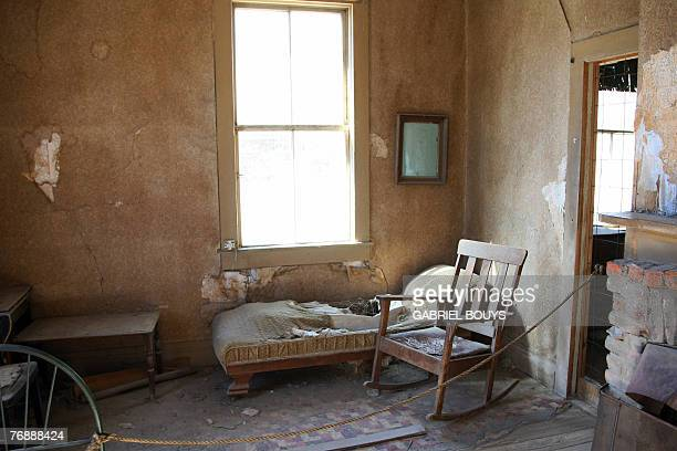 STORY by Tangi QUEMENER USAMUSEUMTOURISMHISTORY View of a home in the ghost town of Bodie California 12 September 2007 The government of California...
