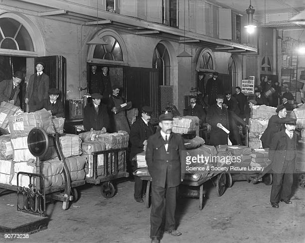 By the 1900s newspapers were being carried from the printers to their destination through the night so they were available to read in the morning The...