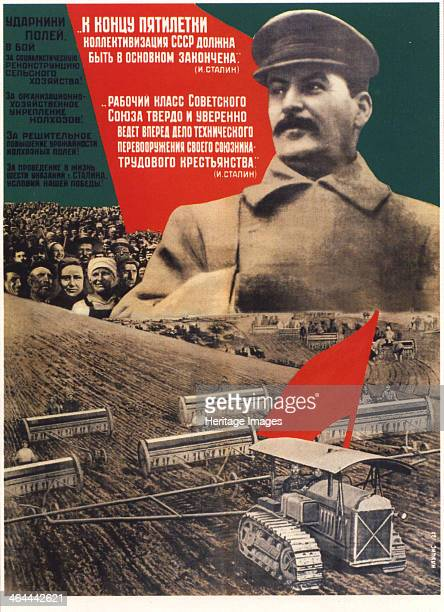 By the end of a fiveyears plan collectivization should be finished 1932 Found in the collection of the Russian State Library Moscow