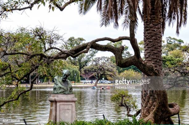 by the lake - palermo buenos aires stock photos and pictures