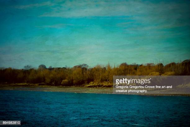 by the river - gregoria gregoriou crowe fine art and creative photography. bildbanksfoton och bilder