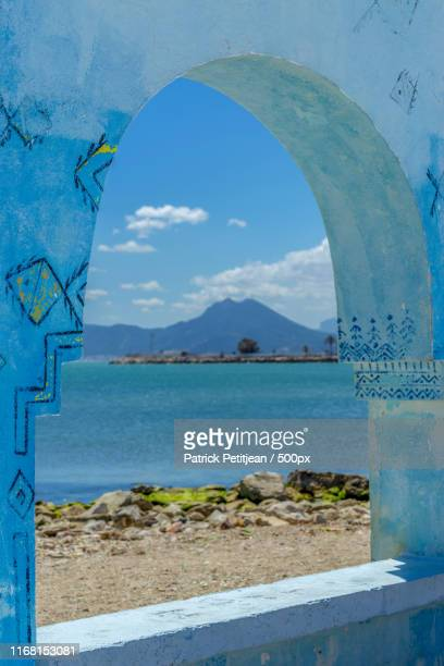 by the seaside in tunisia - tunis stock pictures, royalty-free photos & images