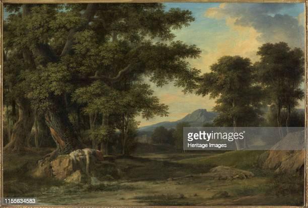 Byblis changed into a fountain 1793 Found in the Collection of Musée des Beaux Arts Quimper Artist Valenciennes PierreHenri de