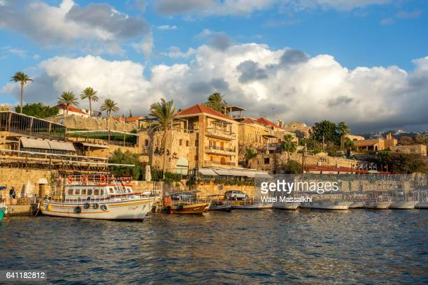byblos lebanon - lebanon stock photos and pictures