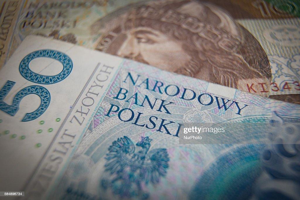 Polish Zlotys and Euros : News Photo