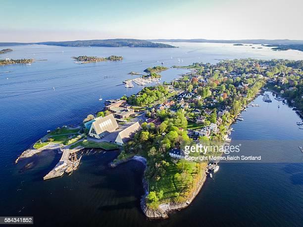 bygdøy peninsula - オスロ ストックフォトと画像
