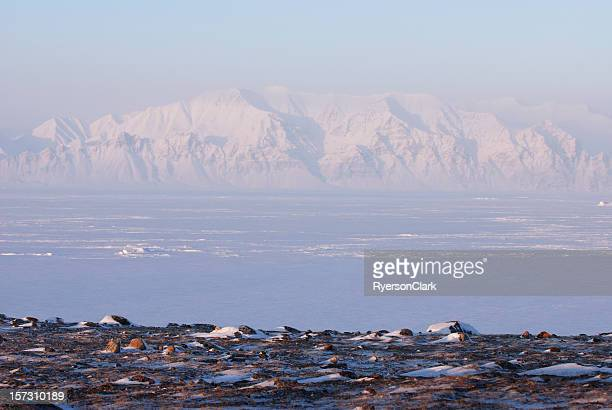 Bylot Island from Pond Inlet, Baffin Island, Nunavut.