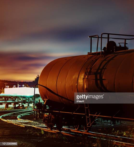 byproduct tank car - gas tank stock photos and pictures