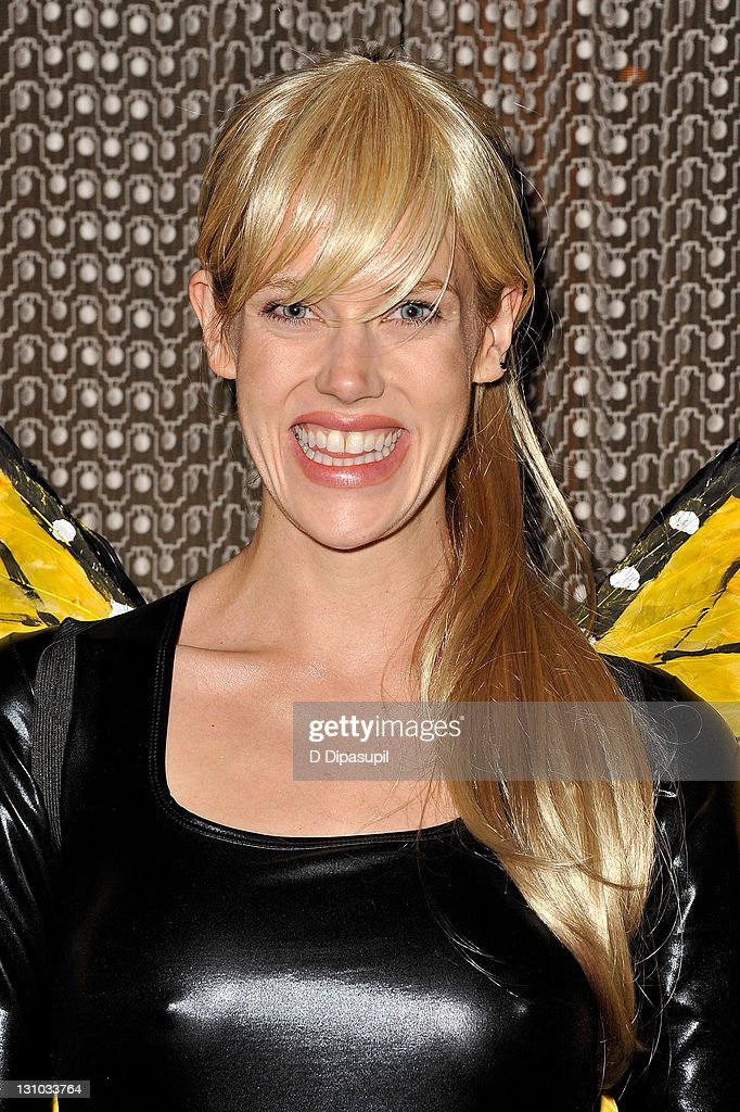 Byrdie Bell attends Heidi Klum's 12th annual Halloween party at the PH-D Rooftop Lounge at Dream Downtown on October 31, 2011 in New York City.