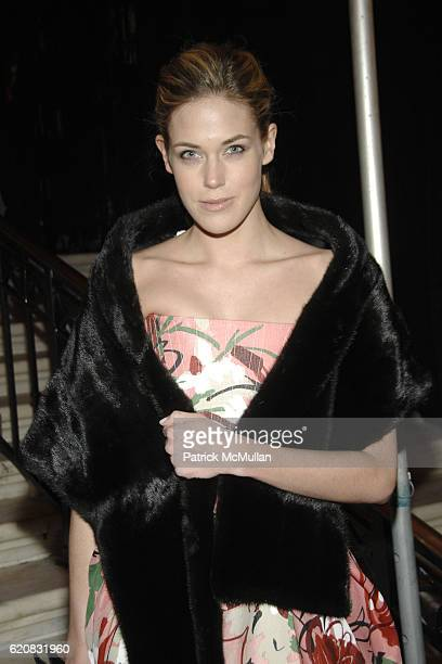 Byrdie Bell attends MUSEUM of the CITY OF NEW YORK Director's Council and DIOR WINTER BALL at Museum of the City of New York on March 12 2008 in New...