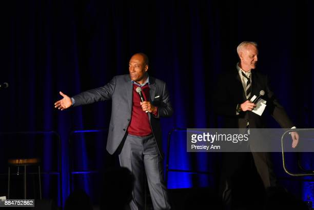 Byron Allen and Garth Kemp attend ALS Golden West Chapter Hosts Champions For Care And A Cure at The Fairmont Miramar Hotel Bungalows on December 2...