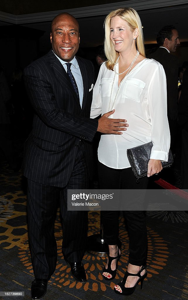 Byron Allen arrives at The National Multiple Sclerosis Society's 38th Annual Dinner Of Champions at the Hyatt Regency Century Plaza on September 24, 2012 in Los Angeles, California.
