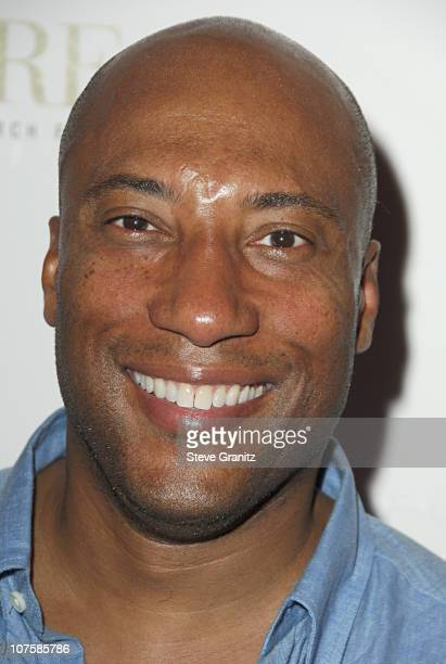 Byron Allen during A Night At The Comedy Store To Benefit The EB Medical Research Foundation Sponsored By Kinerase Arrivals at The Comedy Store in...