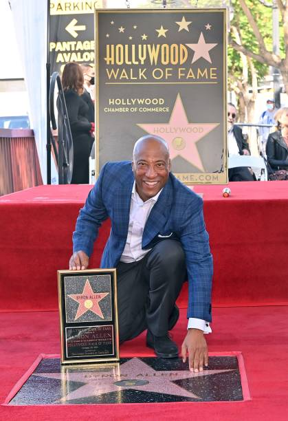 CA: Byron Allen, Founder, Chairman & CEO ALLEN MEDIA GROUP receives star on the Hollywood Walk of Fame