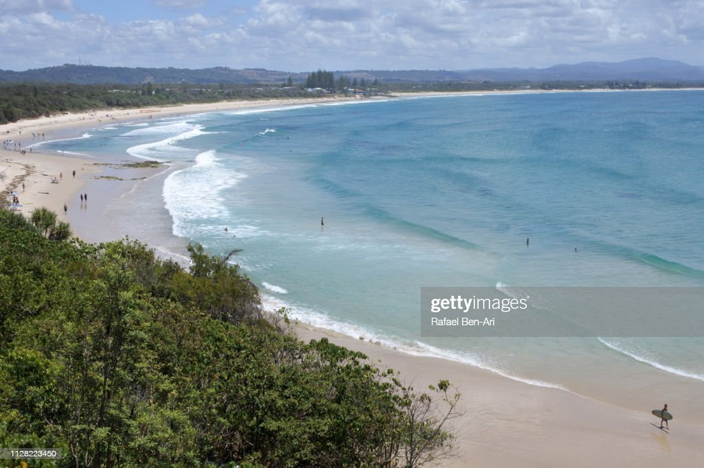 Byron Bay Beach in New South Wales : Stock Photo