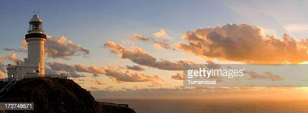 Byron Bay Lighthouse Vanille Sonnenaufgang