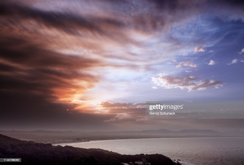 Byron Bay Sunset : Stock-Foto