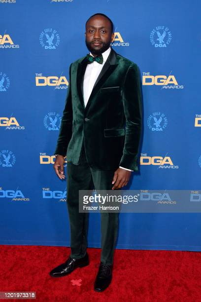 Byron Bowers arrives for the 72nd Annual Directors Guild Of America Awards at The Ritz Carlton on January 25 2020 in Los Angeles California