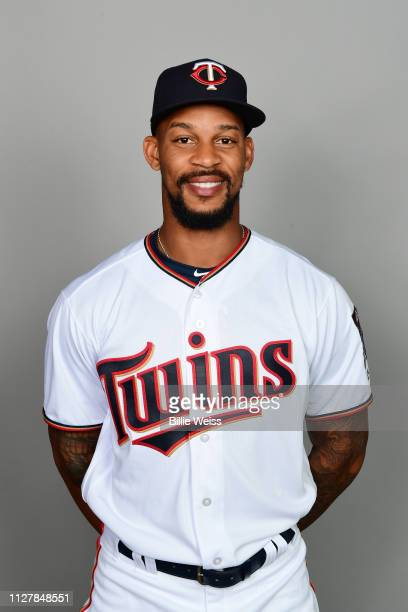Byron Buxton of the Minnesota Twins poses during Photo Day on Friday February 22 2019 at CenturyLink Sports Complex in Fort Myers Florida