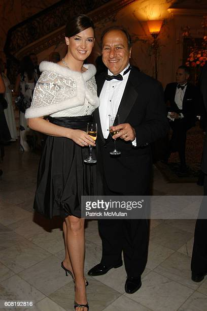 Byron Georgiou and Therese Georgiou attend STEVEN ANGELA KUMBLE'S Wedding Celebration at Metropolitan Club on April 13 2007 in New York City