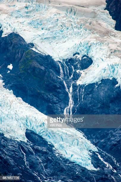 Byron Glacier in portage valley Alaska