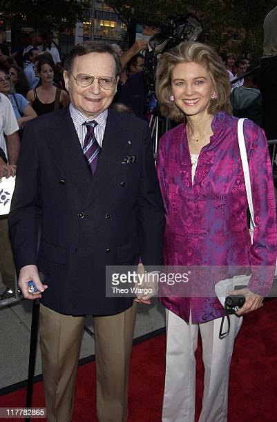 Byron Janis and wife Maria Cooper Janis during Casablanca 60th Anniversary Celebration Screening at Alice Tully Hall Lincoln Center in New York City...