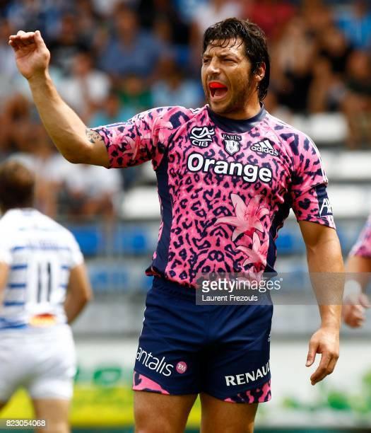 Byron Kelleher Castres / Stade Francais 2e journee Top 14