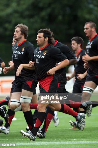 Byron KELLEHER Stade Toulousain / Montpellier Match Amical